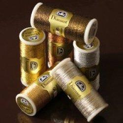 画像1: [4917] DMC Diamant(ディアマント) メタリック刺繍糸