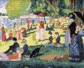 [5851] オリムパス クロスステッチキット ART GALLERY アートギャラリー 「グランド・ジャット島の日曜日」スーラ作 No875 (額別売)