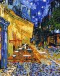 [5860] クロスステッチキット ART GALLERY アートギャラリー 「夜のカフェテラス」ゴッホ作 No7214 (額別売)