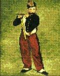 [5858] クロスステッチキット ART GALLERY アートギャラリー 「笛を吹く少年」マネ作 No7029 (額別売)