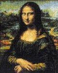 [5856] クロスステッチキット ART GALLERY アートギャラリー 「モナ・リザ」ダ・ヴィンチ作 No7027 (額別売)