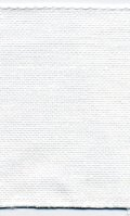 [3998] ZWEIGART 麻テープ 8cm幅 白色 約11目