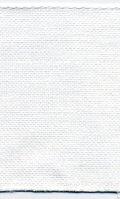 [4002] ZWEIGART 麻テープ 約16cm幅 白色 約11目