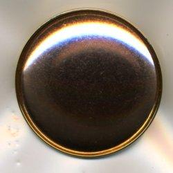 画像1: [5715] ブローチ台 丸 ゴールド BP445