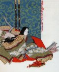 [5865] オリムパス クロスステッチキット 日本の美 名作選 秋好中宮図 尾形光琳筆より No7186 (額別売)