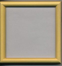 画像1: [1085] かまぼこ額 11cm×11cm 木地