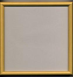 画像1: [1088] かまぼこ額 24cm×24cm 木地
