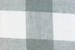画像1: [6444] グラジアーノ 格子布 301 グレー 180cm幅