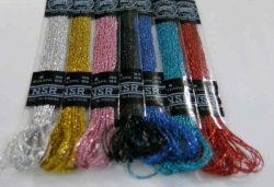 画像1: [6447] マイラー刺繍糸 NSR