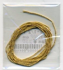 画像1: [6870] No.1・1/2 Twist ゴールド 約100cm