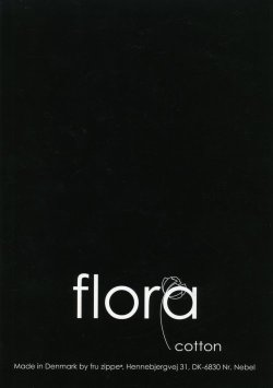 画像1: [6968] fru zippe flora cotton  見本帳