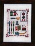 [6969] 暮らしを彩る刺繍のひととき 【クチュリエールのお道具箱】 クロスステッチキット 342633-1