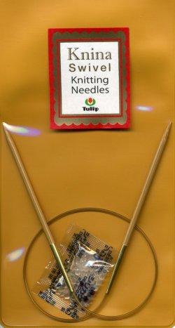 画像1: [6993] Knina Knitting Needles Tulip 40cm 各種