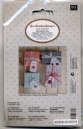 [7134] RICO Stitchable gift tags 08792.78.82