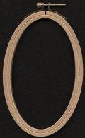 [7211] RICO EMBROIDERY HOOP(オーバルフープ・タテ) No.95237.00.00 約10×16cm