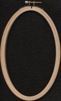 [7212] RICO EMBROIDERY HOOP(オーバルフープ・タテ)No.95238.00.00 約13×21cm