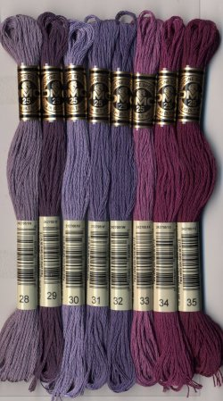 画像5: [7790] DMC刺しゅう糸25番糸 ※新色 色番号01-35番