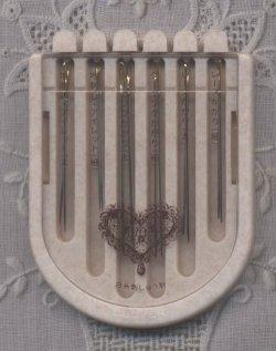 画像2: [7819] クロバー 白糸刺しゅう針アソート 57-053