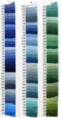 画像4: [0041] アンカー刺しゅう糸25番糸 778-979番