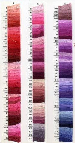 画像3: [0041] アンカー刺しゅう糸25番糸 778-979番