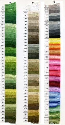 画像5: [0038] アンカー刺しゅう糸25番糸 1-134番