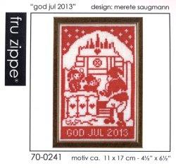"""画像1: [7962] fru zippe クリスマスキット """"god jul 2013"""" 品番:70-0241"""