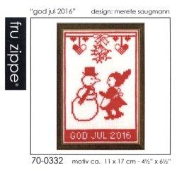"""画像1: [7965] fru zippe クリスマスキット """"god jul 2016"""" 品番:70-0332"""