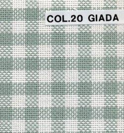 画像2: [7968] イタリー製綿ギンガム布 180cm幅 各色