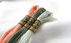 画像1: [0112] DMC刺しゅう糸25番糸 色番号BLANC,ECRU,B5200-300番台