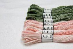 画像1: [4526] A.F.E 麻ぼかし刺繍糸