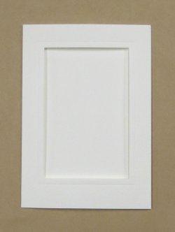 画像1: [8253] プレゼントカード 白:四角 2枚セット封筒付き
