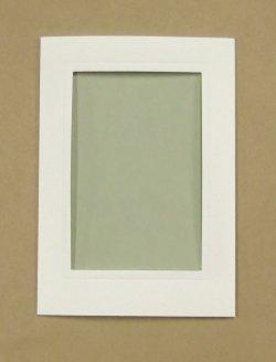 画像3: [8253] プレゼントカード 白:四角 2枚セット封筒付き