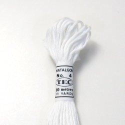 画像2: [0130] TEC#4 マタルボン 色番号White、Ecru-600番台