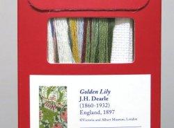 画像2: [8429] DMCクロスステッチキット Golden Lily / J.H. Dearle 品番:BL1173/77