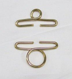 画像1: [7348] No.5188 金属製ベルプル 内径5cm