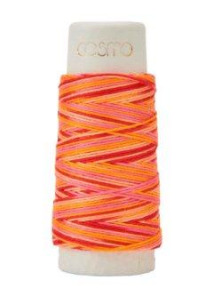 画像1: [8507] ルシアン COSMO  hidamari 刺し子糸 no.89 マルチカラー 各色 日本製