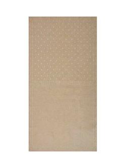 画像2: [8519] ルシアン COSMO hidamari 刺し子綿麻マルチクロス かすり/グレー no.98906-90