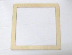 画像1: [8571] 絽刺し枠 25×25cm