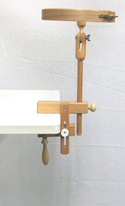 画像2: [8576] 刺しゅう枠用クランプ 75mm可動タイプ 単品
