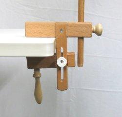 画像1: [8576] 刺しゅう枠用クランプ 75mm可動タイプ 単品