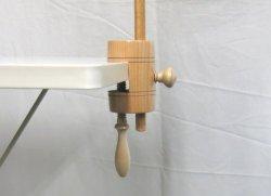 画像1: [8575] 刺しゅう枠用クランプ 35mm可動タイプ 単品