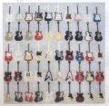 [8616] ステッチガーデン クロスステッチキット 5050-1 Fifty Guitars ※布の色はオフ白です