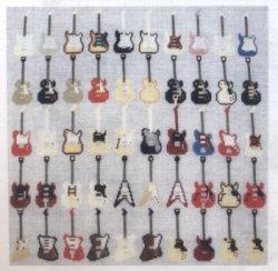 画像1: [8616] ステッチガーデン クロスステッチキット 5050-1 Fifty Guitars ※布の色はオフ白です