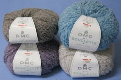 画像1: [8629] DMC BOUCLETTE -Soft Loop Textile Yarn- 選抜色
