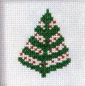 [8660] RICO Merry Christmas クロスステッチキット 79602.52.00 日本語説明書付