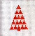 [8661] RICO Merry Christmas クロスステッチキット 79603.52.00 日本語説明書付
