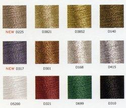 画像5: [4917] DMC Diamant(ディアマント) メタリック刺繍糸