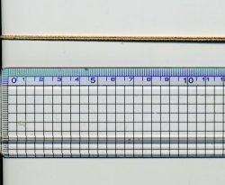 画像1: [8798] 木馬コード 約2mm幅 ゴールド No.9204/34