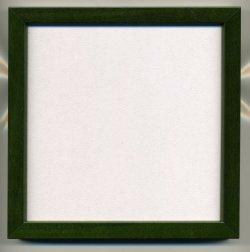 画像1: [8941] 額 5767歩7 150角(内径14cm×14cm) グリーン