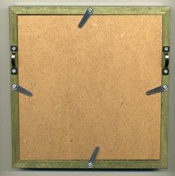 画像2: [8941] 額 5767歩7 150角(内径14cm×14cm) グリーン